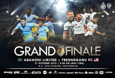 Live Streaming Abahoni Limited vs Terengganu Sheikh Kamal International Club Cup 31.10.2019