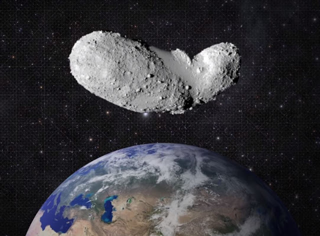 Asteroid that is coming towards Earth in 2020.