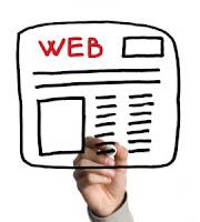 menu site web