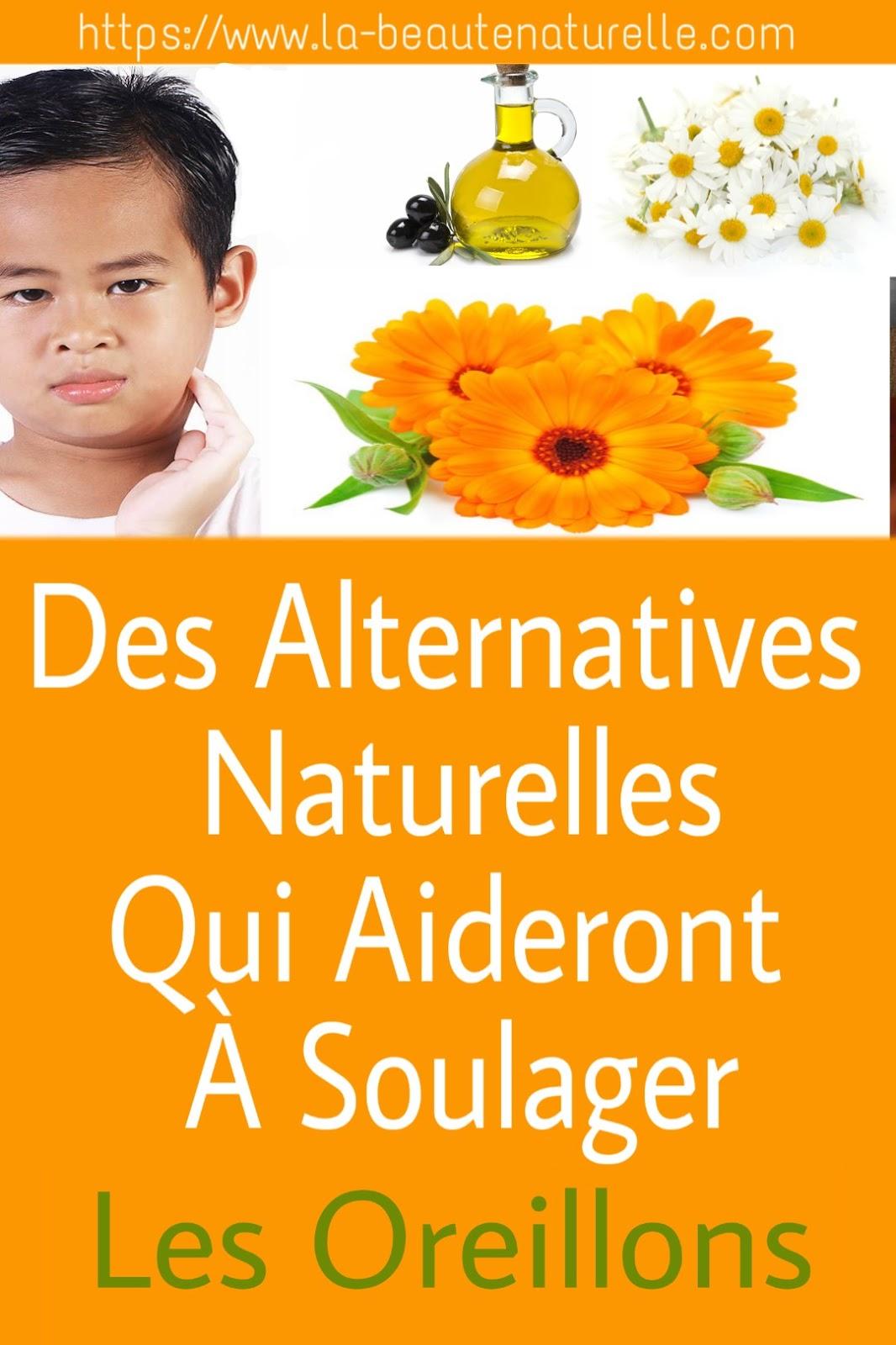 Des Alternatives Naturelles Qui Aideront À Soulager Les Oreillons