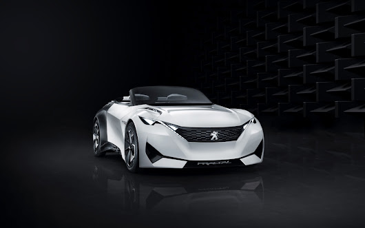 Peugeot Fractal Concept | Wall Sports Cars