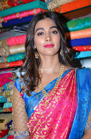 Puja Hegde looks stunning in Red saree at launch of Anutex shopping mall ~ Celebrities Galleries 081.JPG