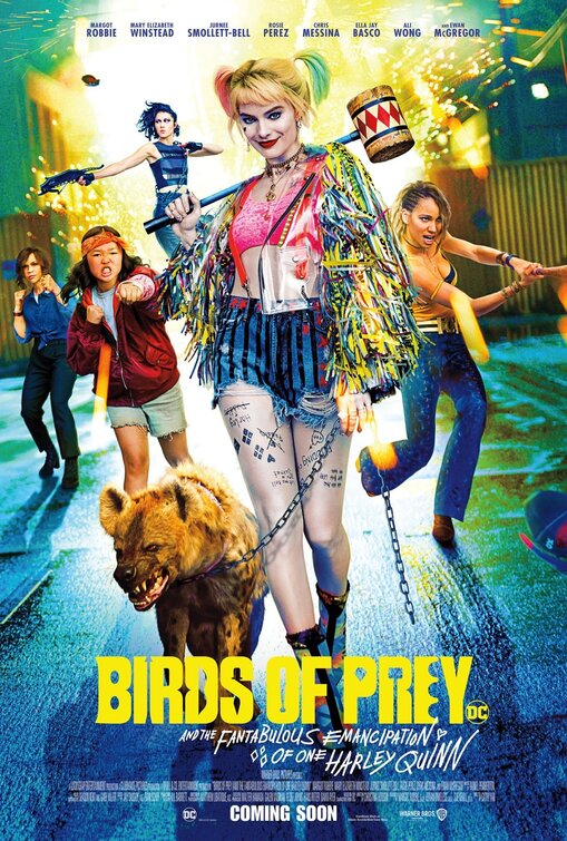 Birds of Prey movie poster