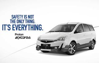Harga Proton Exora SP - Price and Specs