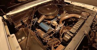 1961 Cadillac DeVille Convertible Engine