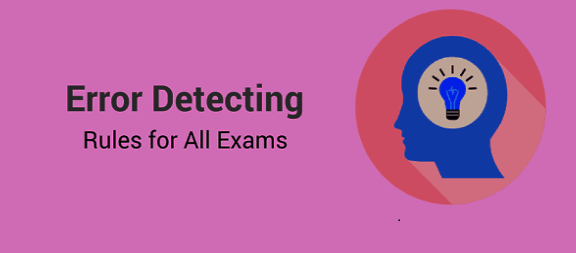 Basic rules for Error Spotting PDF Download