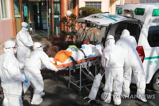 Hàn Quốc thất thủ với Số ca nhiễm vượt 7.000 người, phong tỏa cả thành phố