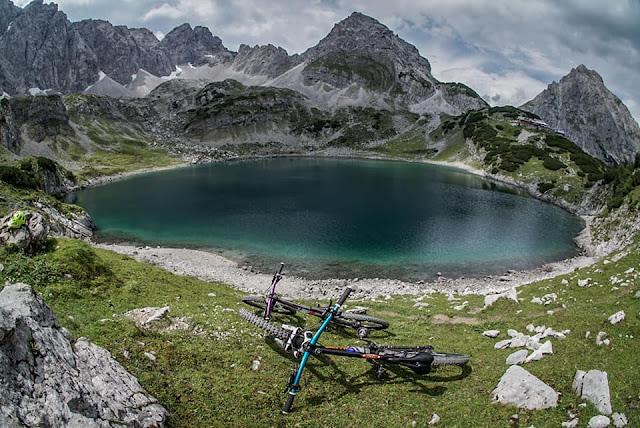 Drachensee MTB - Mountainbike Tour Grünsteinscharte