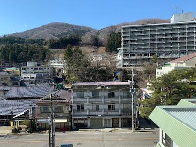 常盤ホテル 窓からの眺め