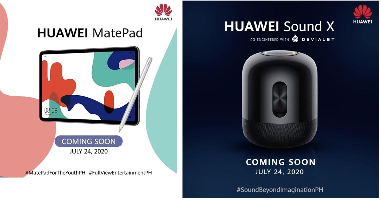 Huawei MatePad and Sound X