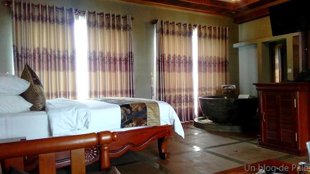 Hotel Model Angkor en Siem Reap - Camboya, habitación