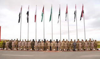 إنطلاق فعاليات التدريب المشترك (سيف العرب) بقاعدة محمد نجيب العسكرية