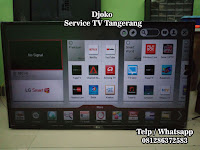 service led tv serpong