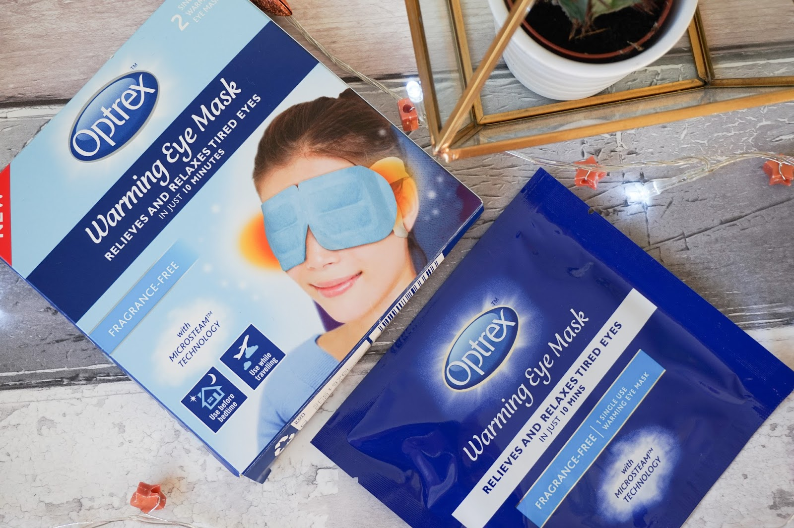 OPTREX WARMING EYE MASK Review