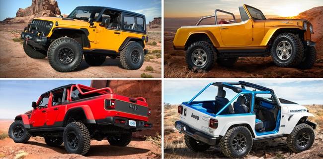 Safari Modifikasi Jeep Terbaru Konsep 2021