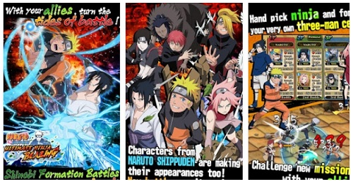 game naruto android terpopuler