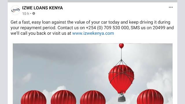 Izwe loans Kenya