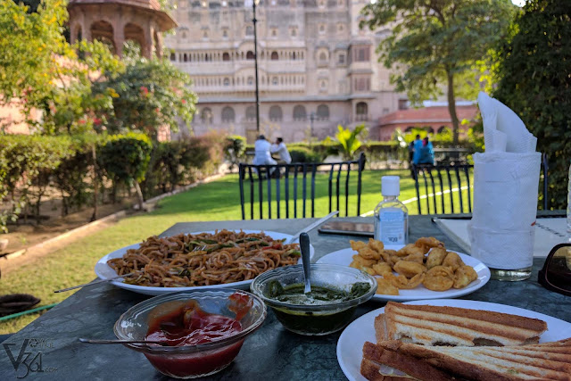 Prachina Cafe, Junagarh fort