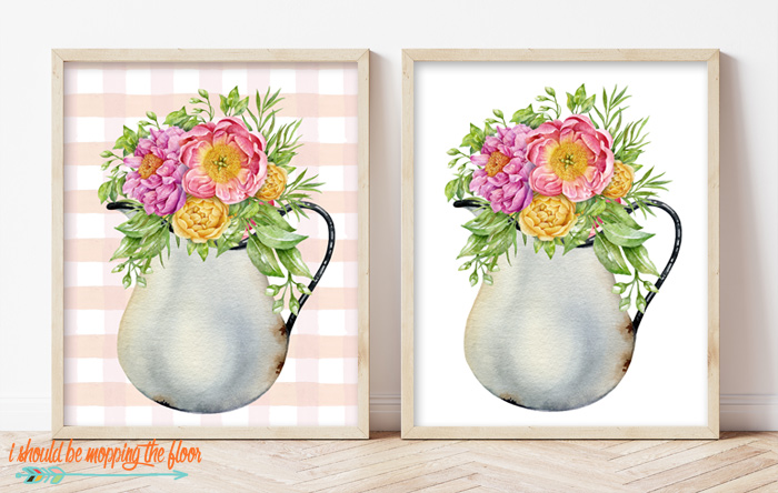 Water Pitcher Printable