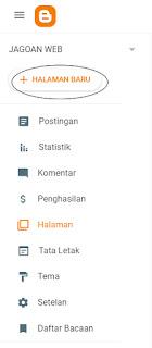 Cara Membuat Halaman Post Penghitung Kata di Blogspot