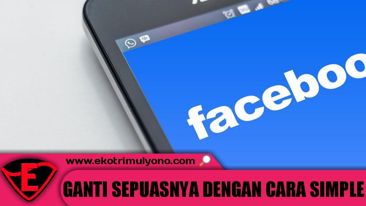 cara mengganti nama Facebook di hp