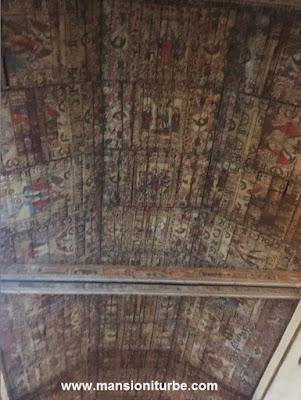 Artesonado del Siglo XVIII en Tupátaro, Michoacán