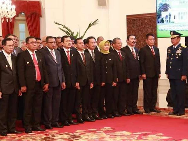 Murad Ismail dan Barnabas Nathaniel Orno Resmi Pimpin Maluku Periode 2019-2024