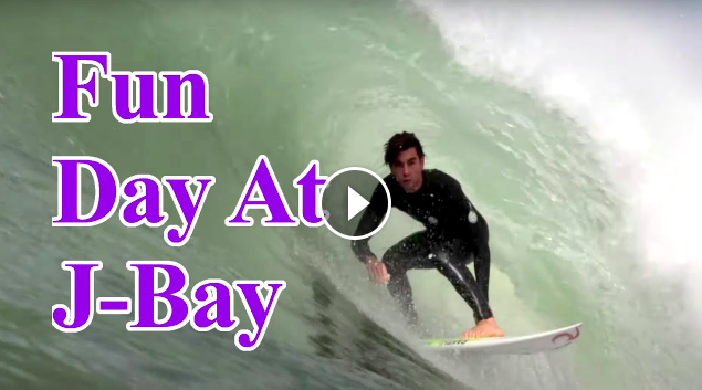 Pumping Waves At J-Bay Karl Steen