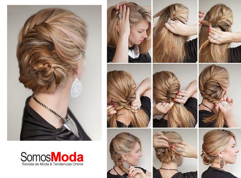 Peinados De Moda Faciles De Hacer Moda Y Tendencia Moda Y - Fotos-peinados-de-moda
