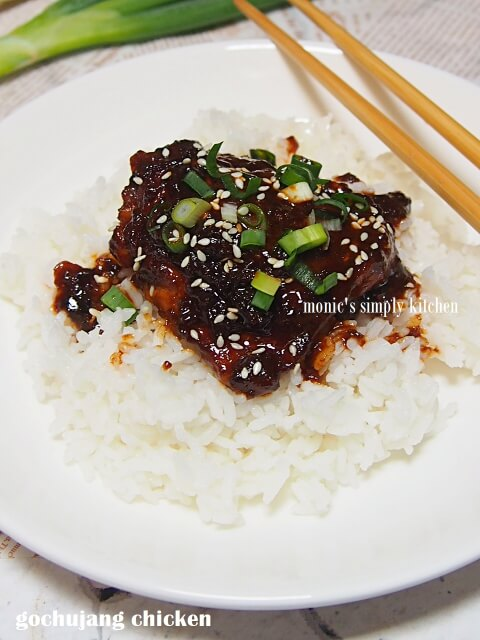 gochujang chicken easy recipe
