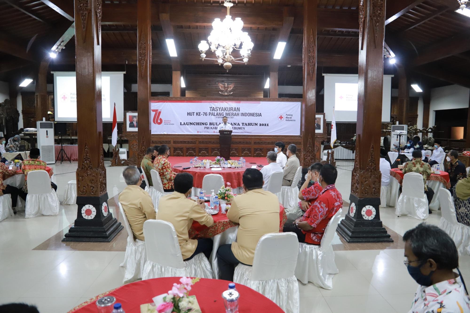 Dipimpin Arif Sugiyanto, Bulan Dana PMI Kebumen Ditarget Rp 2,3 Miliar