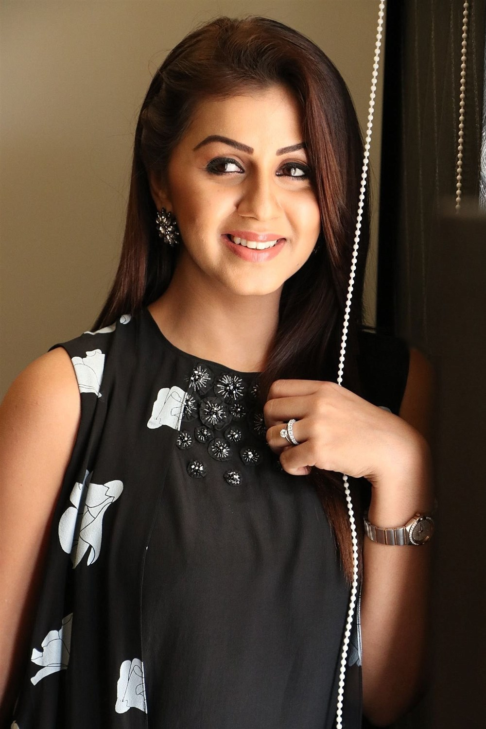 Actress Nikki Galrani at Hara Hara Mahadevaki Press Meet
