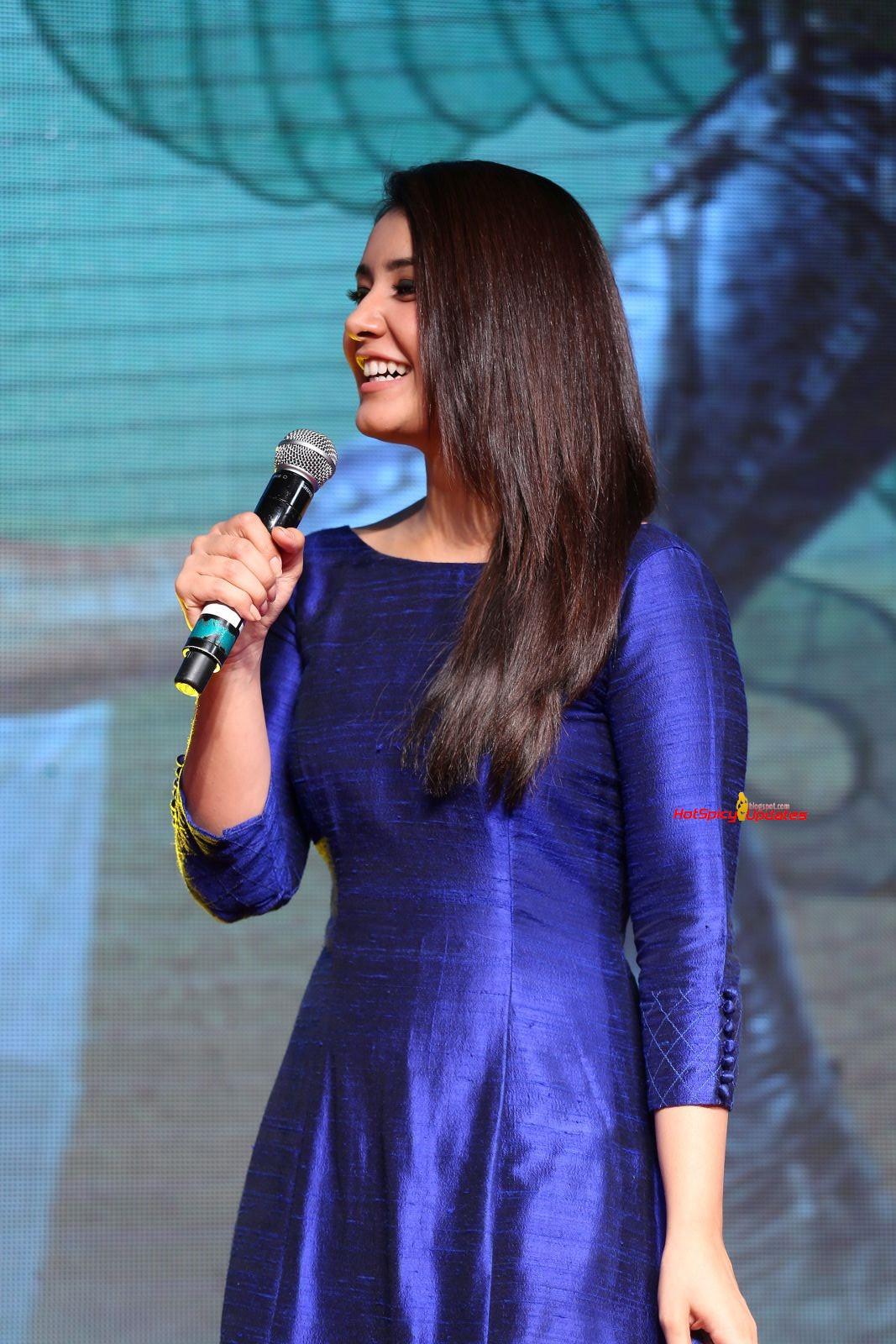 Rashi Khanna At Supreme Movie Success Meet Stills  Latest -1336