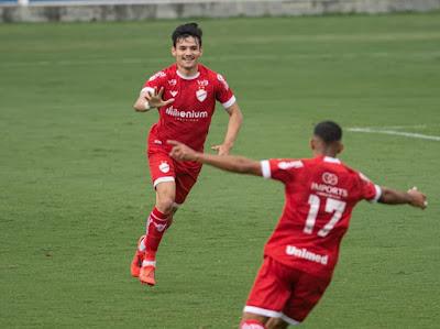 Maior revelação do Vila Nova em 2020 é vendido para equipe da Tombense