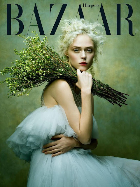 Coco Rocha for Harpers Bazaar editorial by Zhang Jingna, styling Phoung My, make up Tatyana Harkhoff