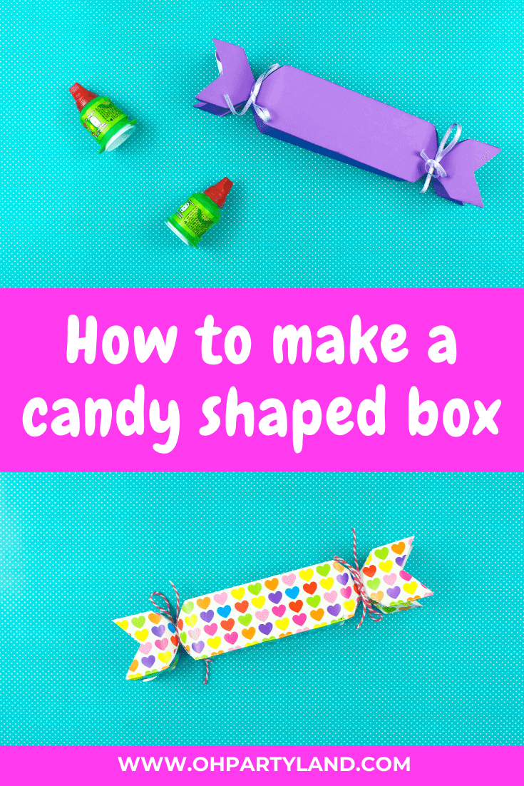 How to make a Candy Shaped Box