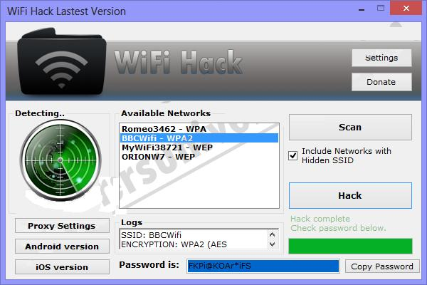 WiFi Password Hack Premium