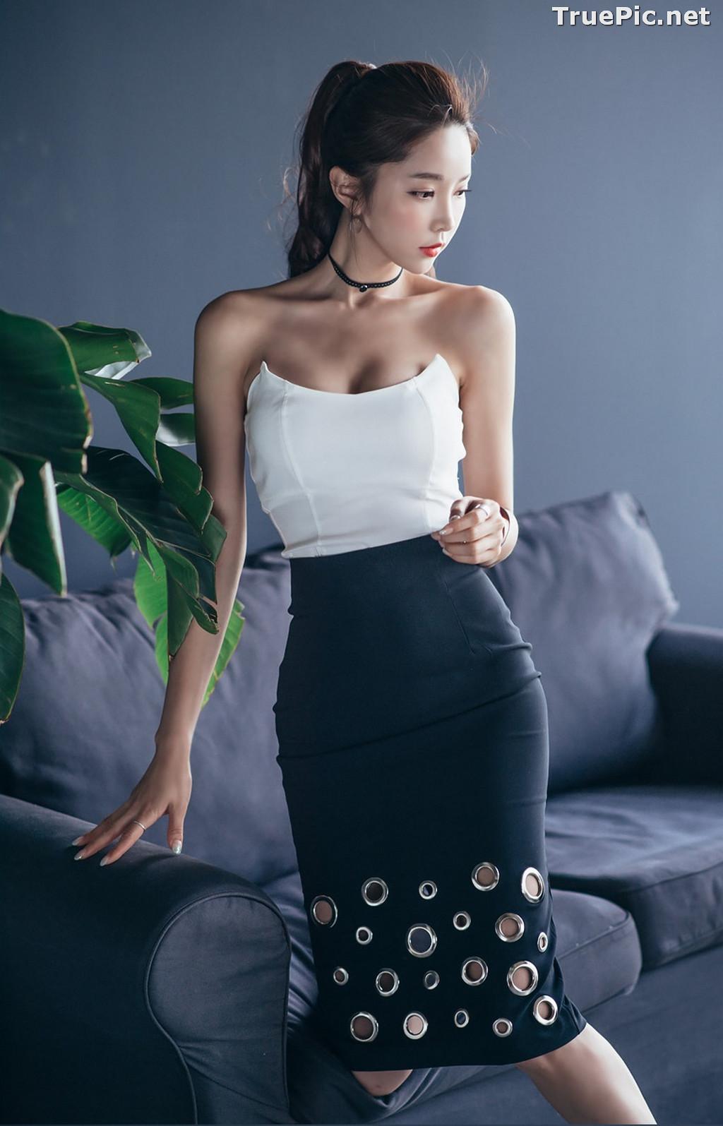 Image Korean Beautiful Model – Park Soo Yeon – Fashion Photography #3 - TruePic.net - Picture-9