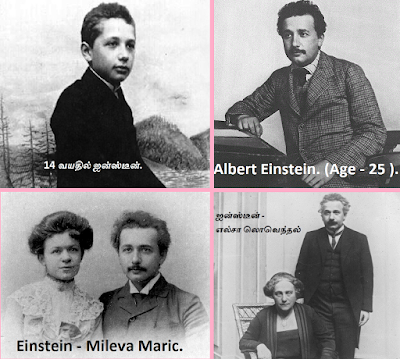 Einstein life and Wife