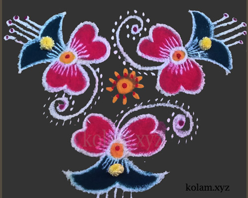 new simple kolam designs