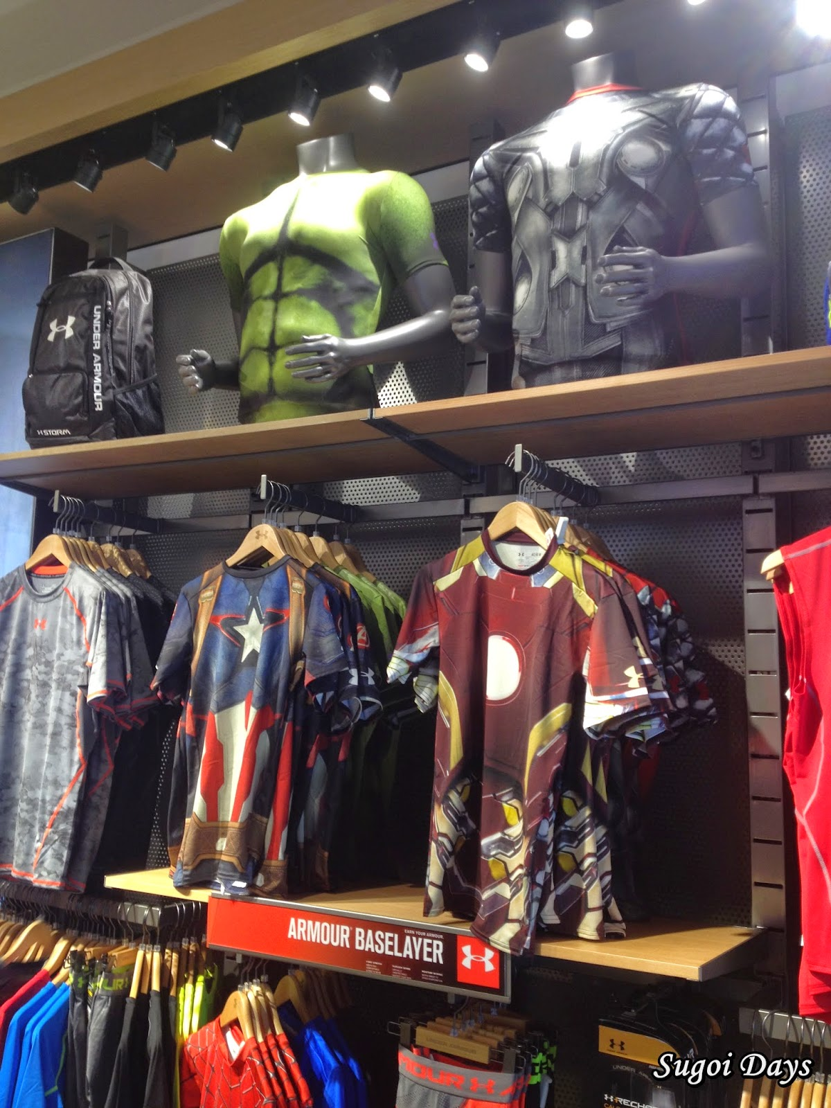 Sugoi Days: Under Armour has landed in Midvalley!