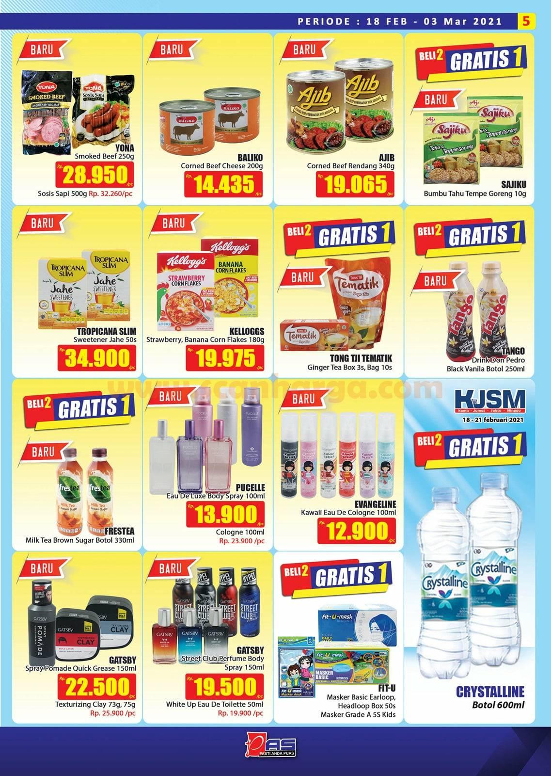 Katalog Promo Hari Hari Pasar Swalayan 18 Februari - 3 Maret 2021 5