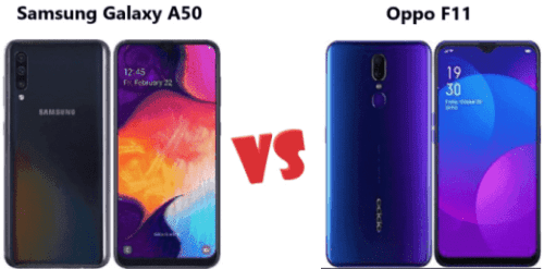 Samsung galaxy A50 vs Oppo F11