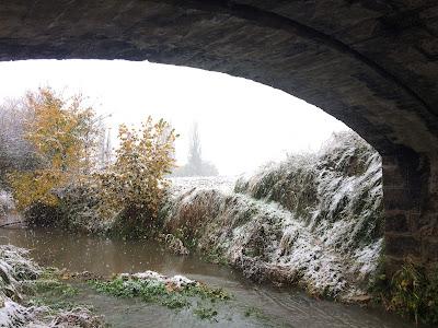 Agroturismo Arkaia. Nieve en Arkaia. Vitoria - Gasteiz
