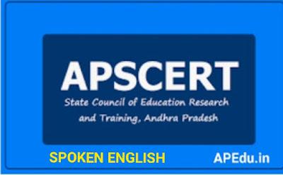 AP SCERT CLEP - II SPOKEN ENGLISH SERIES