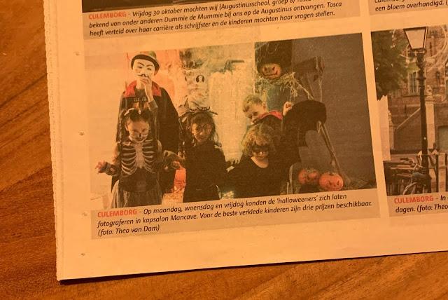 In de krant Halloween