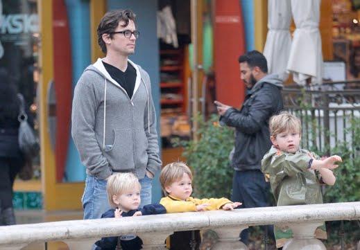 VJBrendan com: Matt Bomer Publicly Acknowledges Partner and Kids