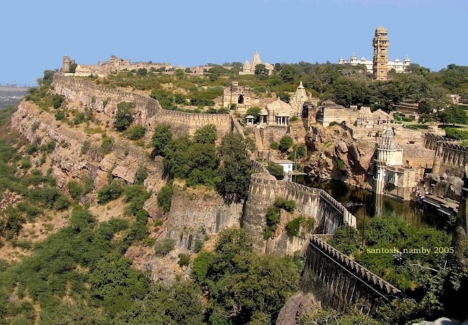 history of chittorgarh fort