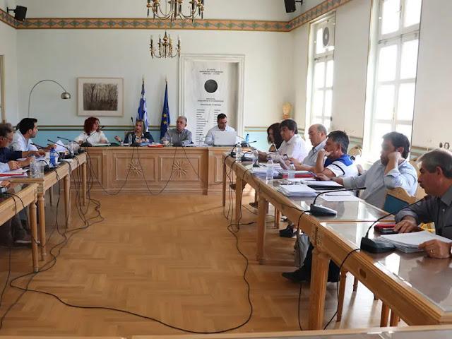 Με τρια θέματα για την Αργολίδα συνεδριάζει η Οικονομική Επιτροπή της Περιφέρειας Πελοποννήσου