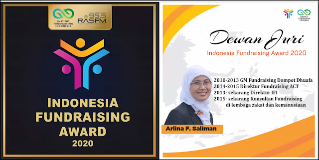 Arlina Saliman Indonesia Fundraising Awards 2020